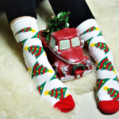 Vianočné ponožky-obrázok
