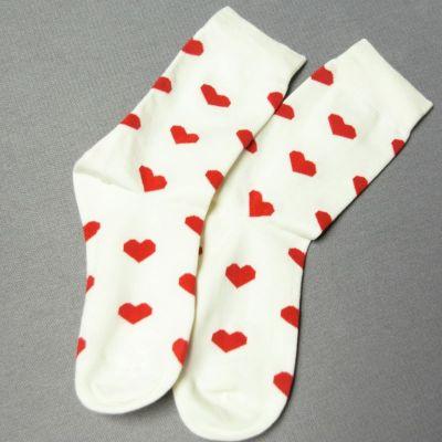 Valentínske ponožky-obrázok