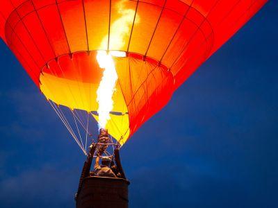 Lety balónom-obrázok