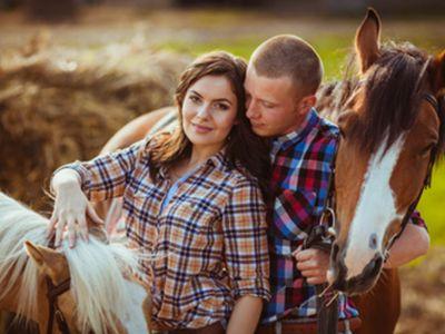 Jazda na koni-obrázok